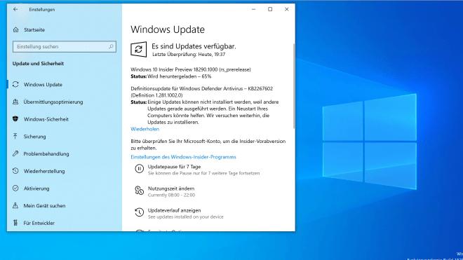 Erste Preview für den Slow Ring: Man nähert sich final Windows 10