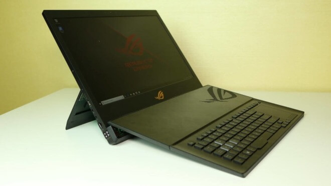 Gaming, Pc, Notebook, Asus, Ces, Roland Quandt, All-In-One-PC, CES 2019, Rog, Intel Core i9, Portable, Mothership