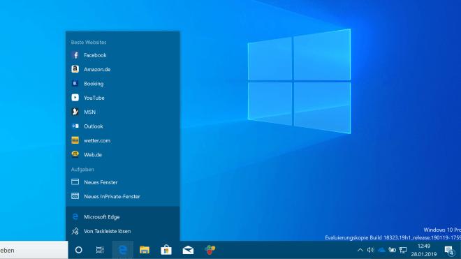 Microsoft reicht kumulatives Update für Windows 10 Version 1903 nach