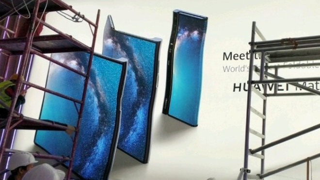 Falt-Smartphone Mate X: Huawei überbietet Samsung doppelt
