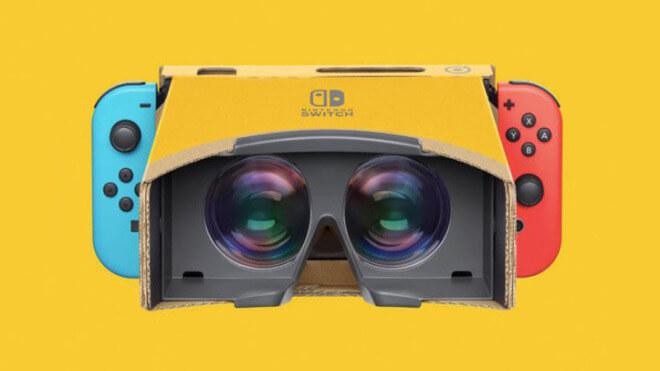 online store d600b 9d2db Konsole, Nintendo, Virtual Reality, VR, Nintendo Switch, Nintendo Konsole,  Switch, VR-Brille, VR-Headset, Nintendo Labo Bildquelle  Nintendo