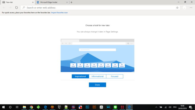 Edge with Chromium: Preview version includes new developer options
