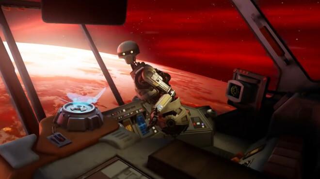 Trailer, Virtual Reality, VR, Star Wars, ILMxLab, Vader Immortal