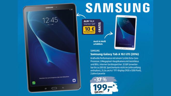 Aldi Süd Tablet Angebot