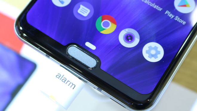Smartphone, Test, Octacore, Hands-On, Ifa, Hands on, Review, notch, Sharp, Qualcomm Snapdragon 855, IFA 2019, Google Android 9.0 Pie, Aquos, Sharp Aquos R3, Dual-Notch
