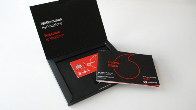 Vodafone: Neuer Callya-Black-Tarif bietet 50 GByte Daten im Monat