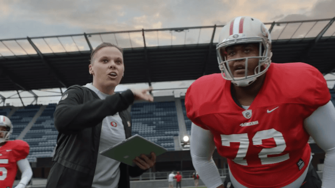 Microsoft, Tablet, Surface, Microsoft Surface, Werbespot, Super Bowl, Surface Tablet, Super Bowl 2020, San Francisco 49ers, Katie Sowers