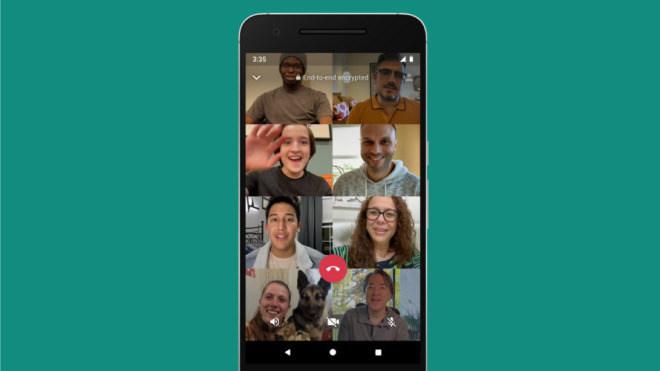 Bestätigt: WhatsApp-Videoanrufe mit bis zu 8 Personen