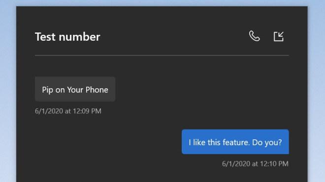 Your Phone: Microsoft stattet die App mit einem Bild-in-Bild-Modus aus