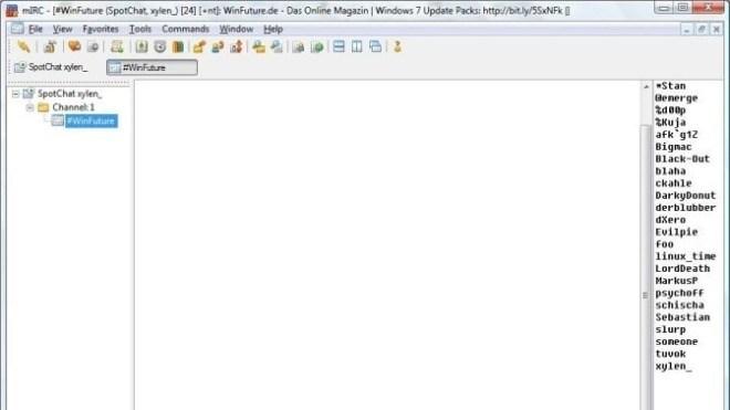 mIRC 7 27 - Neue Version des IRC-Clients - WinFuture de