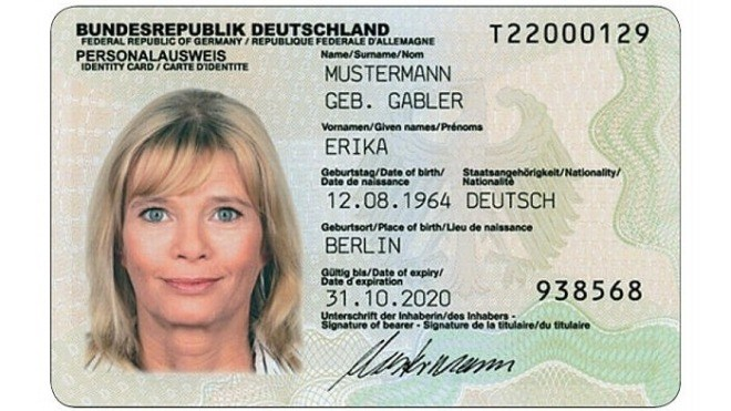 Fake Personalausweisnummer