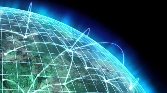 glasfasertechnik für das internet
