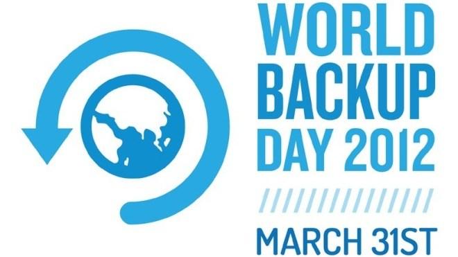 31. März 2013: Heute ist World Backup Day