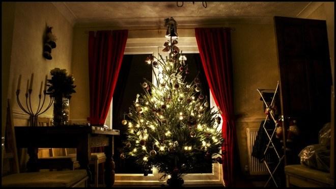 Weihnachten Wohnzimmer Weihnachtsbaum Bildquelle Steve Wilson Flickr