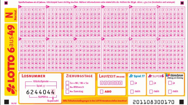 Lotto Bw 56